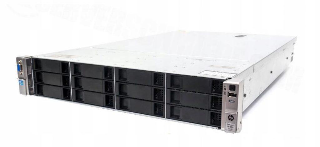 Фото сервера DL380e G8 Gen8 2x E5-2450L 32ГБ 14x SAS / SATA / SSD