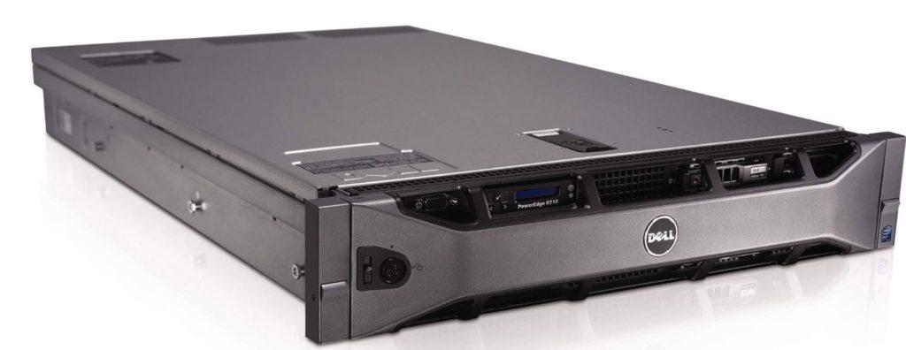 Фото сервера DELL R710 2x QUAD L5630 32 ГБ Perc 6i 6x 3,5