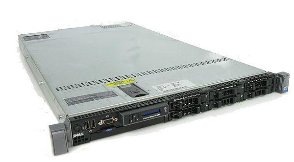 Фото сервера DELL R610 2 X E5520 24 ГБ оперативной памяти iDRAC6 2X 717 Вт