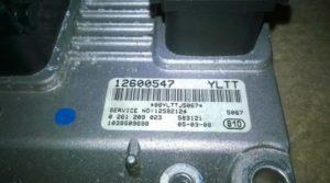 Блок управления Cadillac 12600547