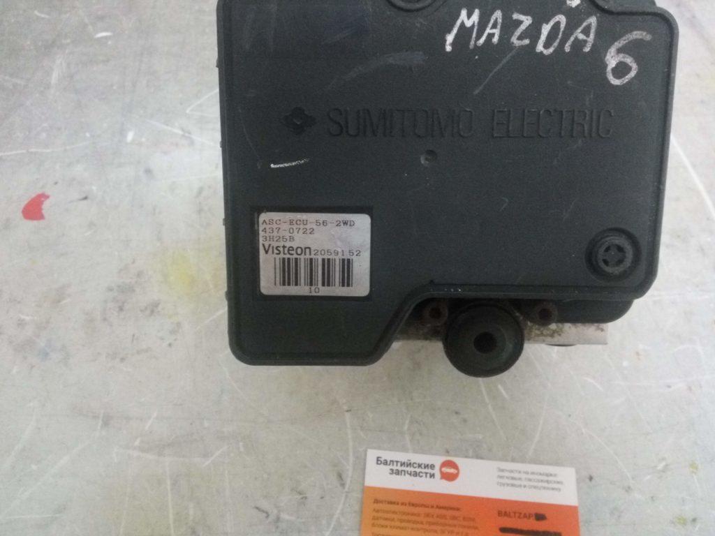 Блок ABS Mazda GJ6E437AO