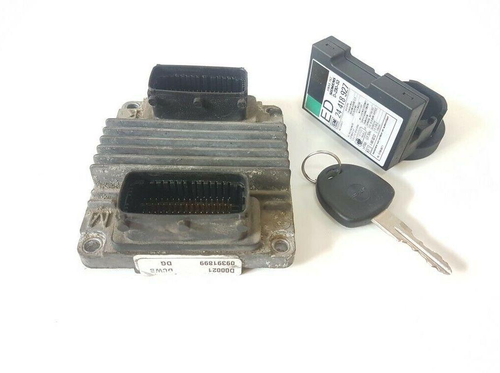 Комплект блока управления 8972314050 09391899 OPEL 1.7