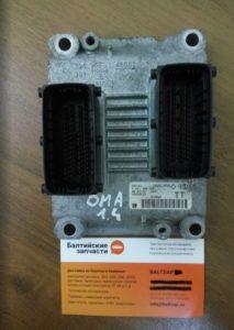 Блок управления двигателем Opel 55353613 TT