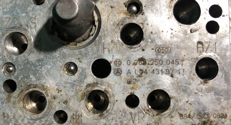 MERCEDES W211 SBC ABS 3,2 CDI  0265250045 A0044319712 0265960012