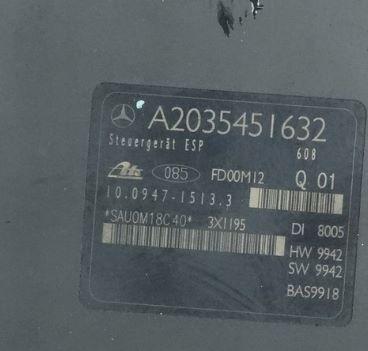 Mercedes C W203 ABS ESP A2035451632 A0044310512 10.0204-0290.4
