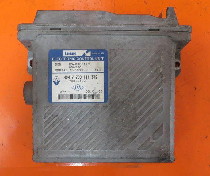 Контроллер Двигателя renault scenic 1.6 R04080017C
