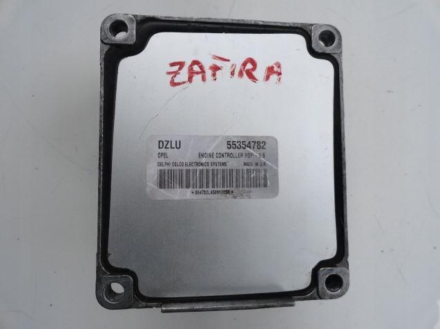 Блок управления двигателем Opel 55354782