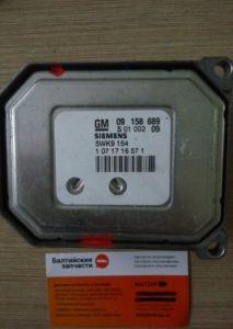 Блок управления двигателем Opel 09158689 5wk9154