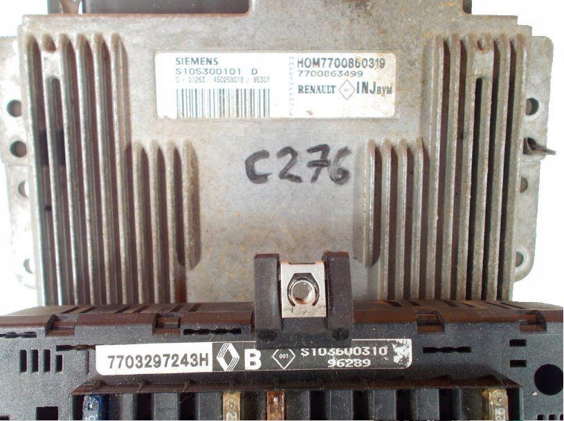 Комплект блока управления двигателем HOM7700860319 S105300101